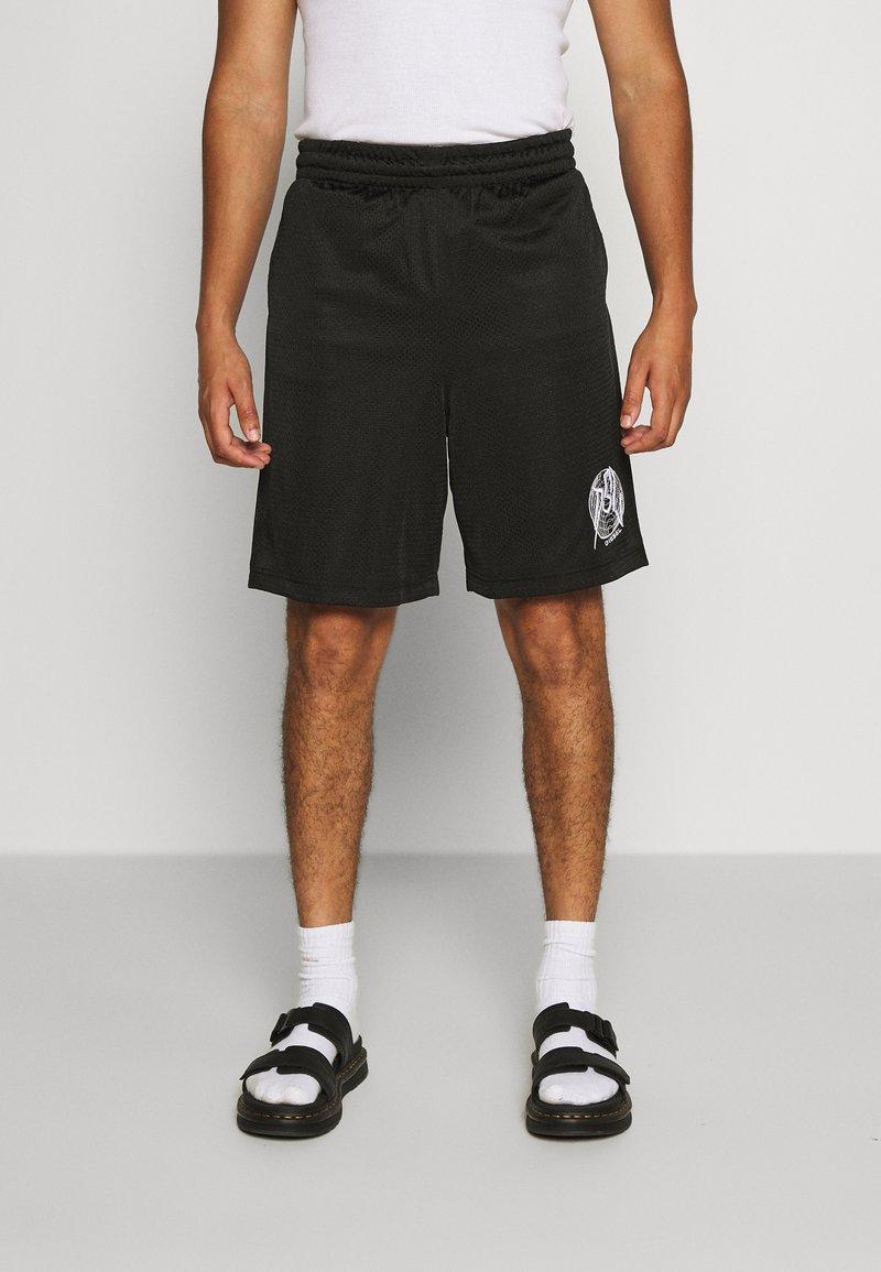 Diesel - P-FRAKLE SHORTS - Shorts - black