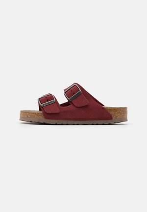 ARIZONA SOFT FOOTBED UNISEX - Slippers - vermouth
