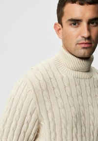 Selected Homme - Pullover - bone white - 3