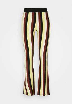 BINDI FLARED - Spodnie materiałowe - chai