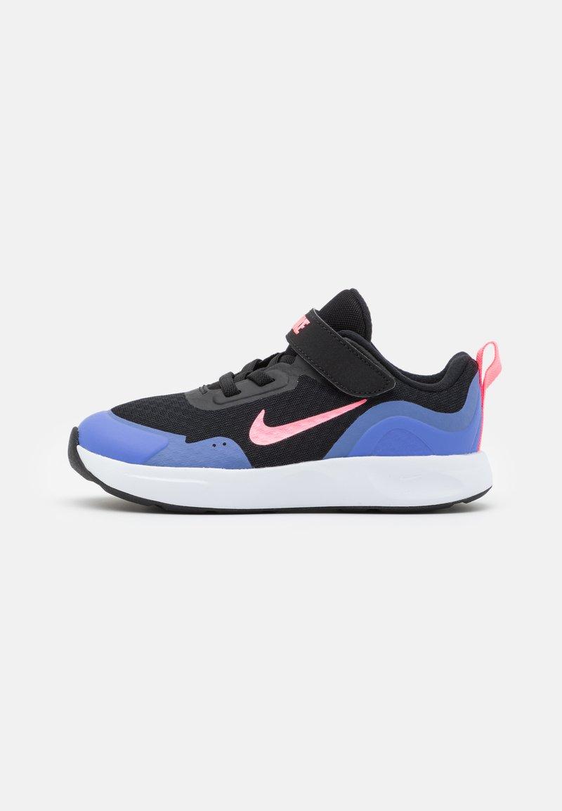 Nike Sportswear - WEARALLDAY UNISEX - Sneakers basse - black/sunset pulse/sapphire