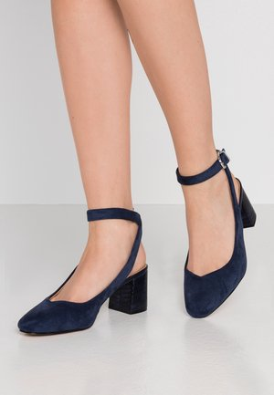 Escarpins - navy