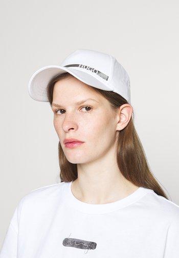 UNISEX - Keps - white/silver