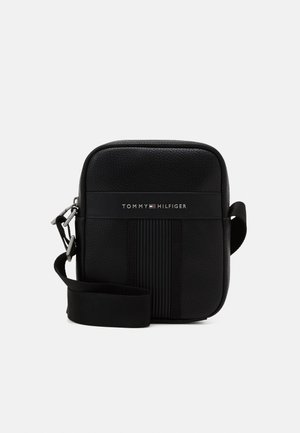 DOWNTOWN MINI REPORTER UNISEX - Across body bag - black