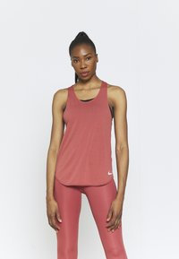 Nike Performance - BREATHE TANK COOL - Top - canyon rust/reflective silver - 0