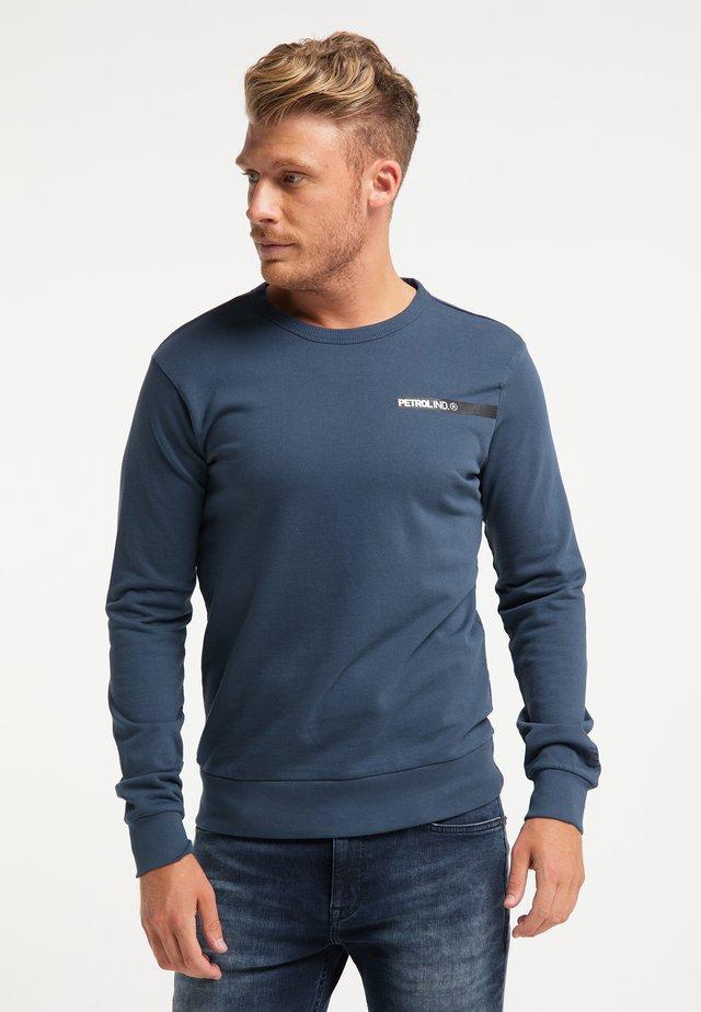 Sweater - petrol blue