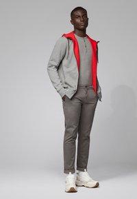 BOSS - TRIX - Long sleeved top - light grey - 1