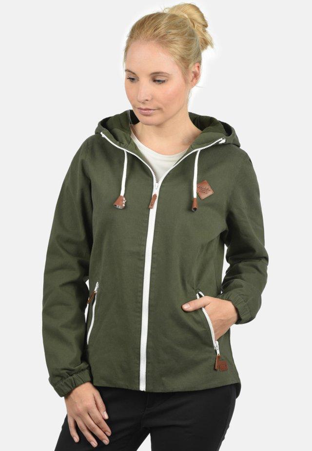 BIBI - Waterproof jacket - dusty green