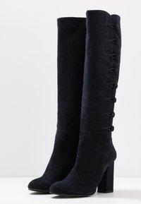 Alberto Zago - High heeled boots - blue - 4