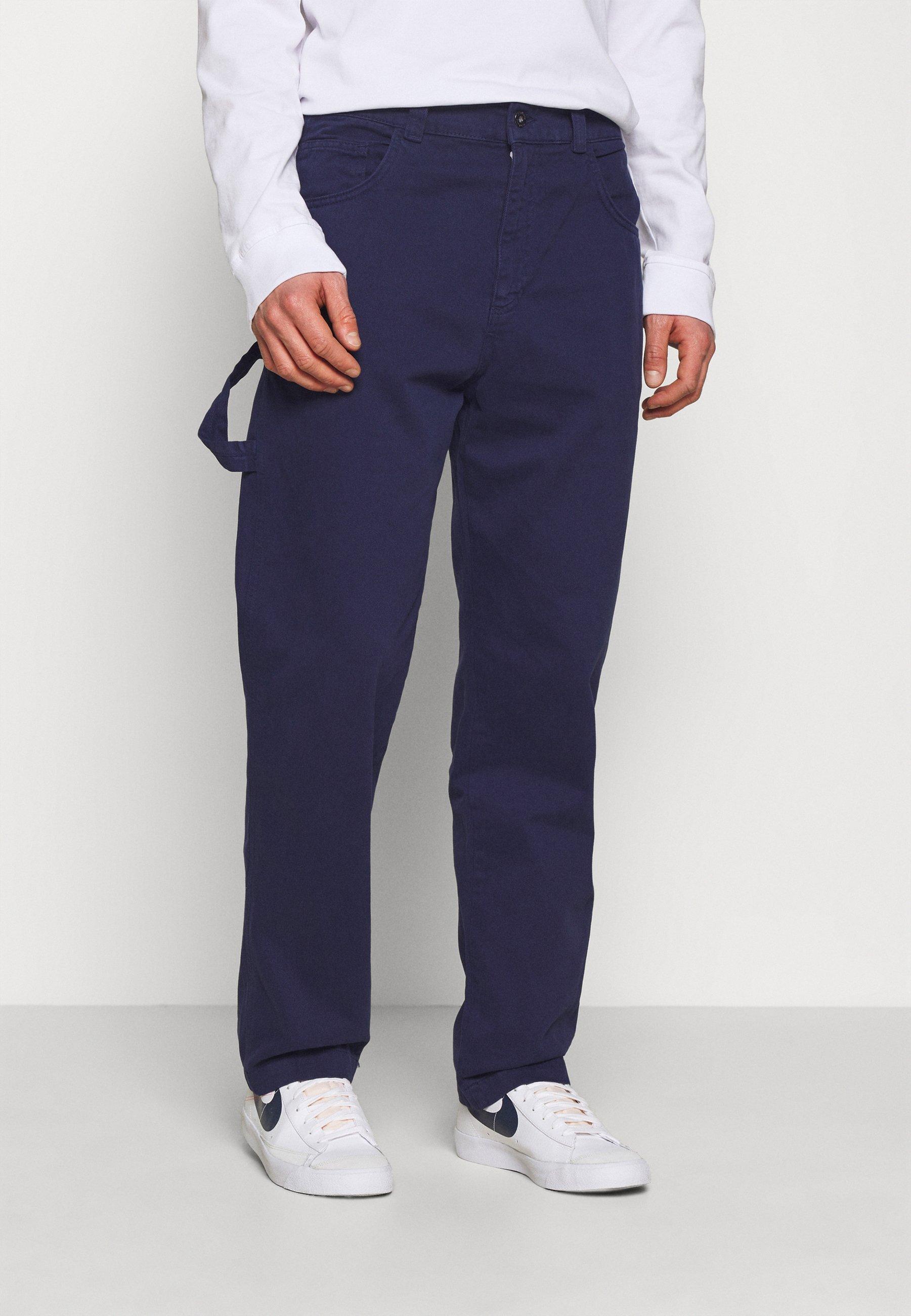 Homme DRILL STRAIGHT LEG TROUSER - Pantalon classique