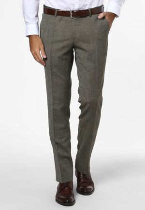 Suit trousers - oliv
