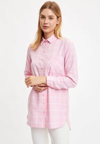 DeFacto - Button-down blouse - pink - 3