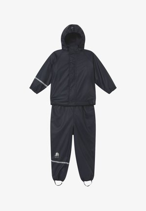 RAINWEAR SET UNISEX - Rain trousers - navy