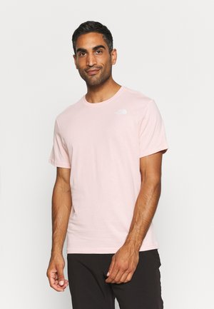 REDBOX CELEBRATION TEE - Print T-shirt - peach pink/gardenia white