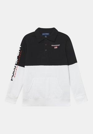Sweatshirt - polo black multi