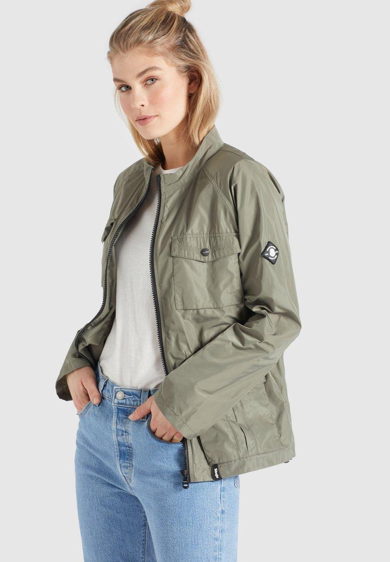 khujo - FAMKE - Light jacket - hellkhaki