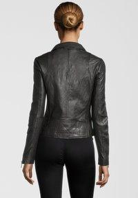 Rino&Pelle - GHOST - Leather jacket - dark chocolate - 1