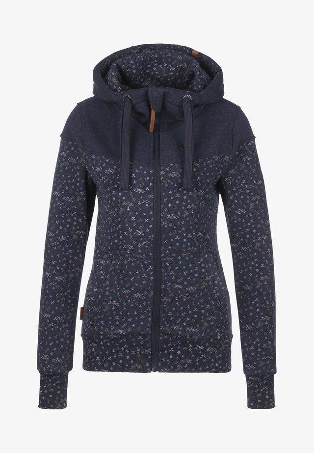 PALINA - Zip-up hoodie - marine