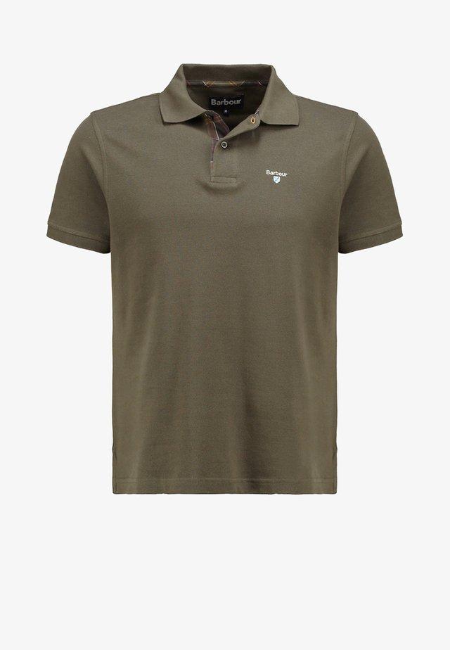 TARTAN  - Poloshirt - dark olive/classic