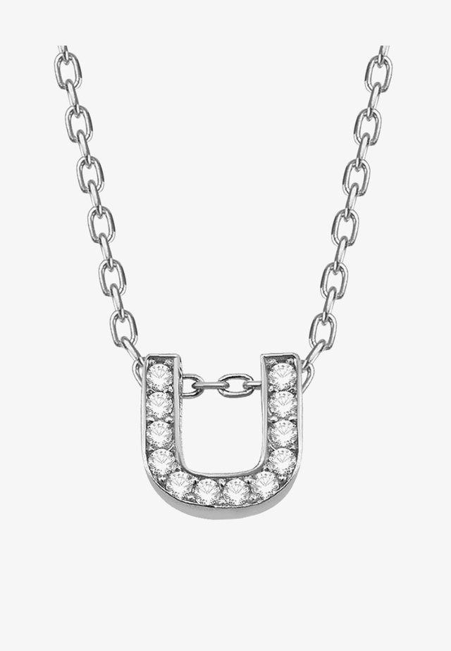 STANDART U - Necklace - silber