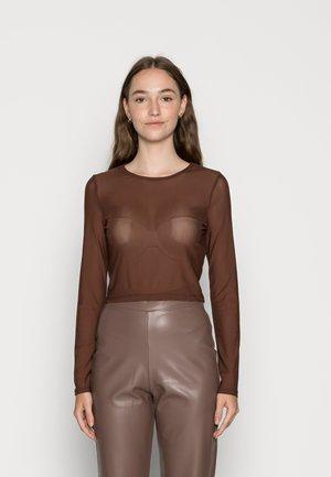 IMPRESS ME - Long sleeved top - brown