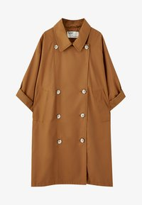 PULL&BEAR - Prochowiec - brown - 5