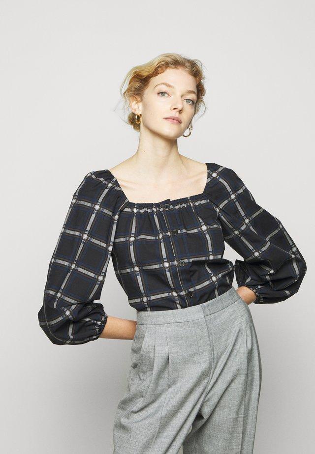 ELINE NARA BLOUSE - Bluse - brown