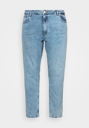 CARELLY  - Džíny Straight Fit - light blue denim