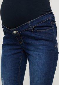 Esprit Maternity - PANTS - Slim fit jeans - darkwash - 5