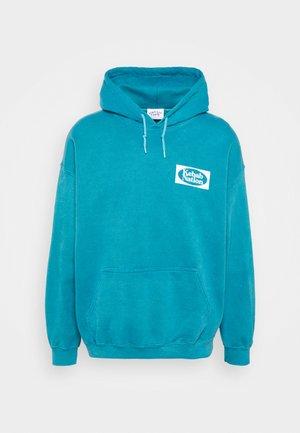 KEBAB NATION OVERDYE HOODIE - Sweatshirt - blue