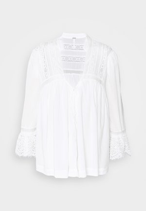 ESME BUTTONDOWN - Tuniek - white