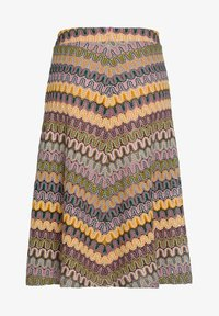 More & More - A-line skirt - brown/beige - 1