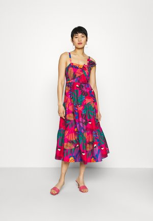 MACAW BOW MIDI DRESS - Day dress - multi