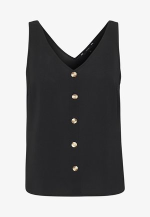 VMSASHA BUTTON - Blusa - black