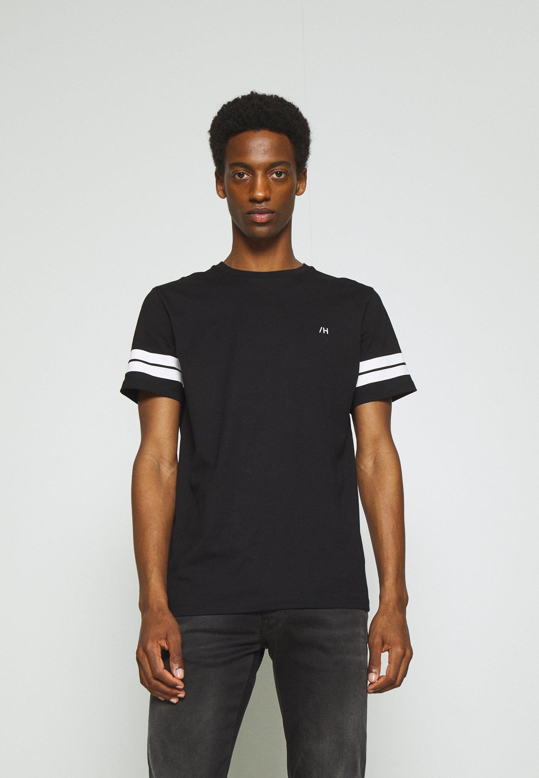Men SLHREGPATO O NECK TEE - Print T-shirt