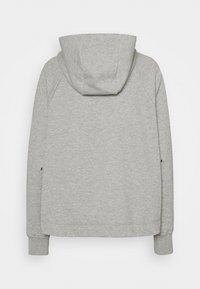 Nike Sportswear - Sudadera con cremallera - grey heather/black - 1