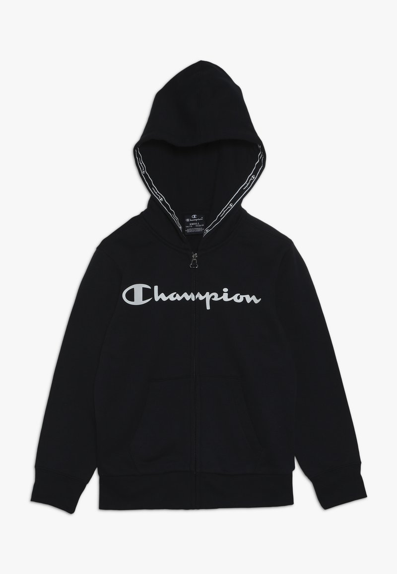 Champion - AMERICAN CLASSICS HOODED FULL ZIP - Felpa aperta - navy