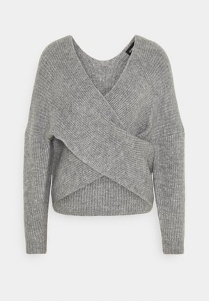 Jumper - mid grey melange