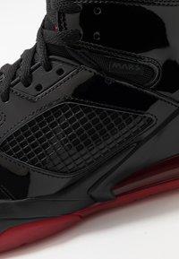 Jordan - MARS 270 - Korkeavartiset tennarit - black/anthracite/gym red - 8
