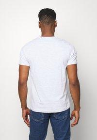 Topman - 7 PACK - Camiseta básica - mottled grey/khaki/blue - 2