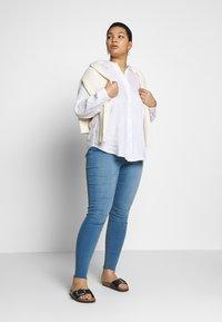 Lauren Ralph Lauren Woman - KARRIE LONG SLEEVE - Button-down blouse - white - 1