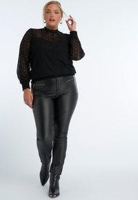 MS Mode - Blouse - black - 1
