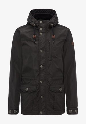 Lehká bunda - schwarz