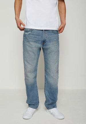 551Z AUTHENTIC STRAIGHT - Jeans a sigaretta - dark indigo worn in