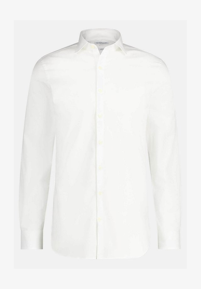 SLIM FIT WITH STRETCH - Zakelijk overhemd - white