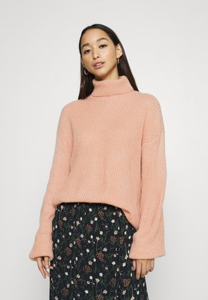 VIWULFIE TURTLE NECK  - Jersey de punto - misty rose