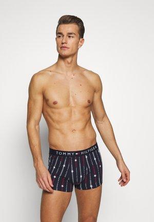 TRUNK PRINT - Pants - blue