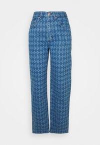 BDG Urban Outfitters - ARGYLE MODERN BOYFRIEND  - Jeans straight leg - light vintage - 4