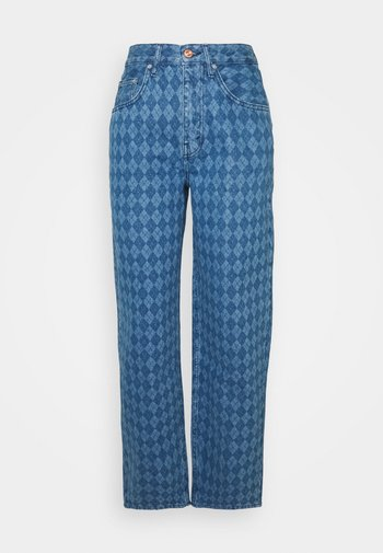 ARGYLE MODERN BOYFRIEND  - Jeans a sigaretta - light vintage