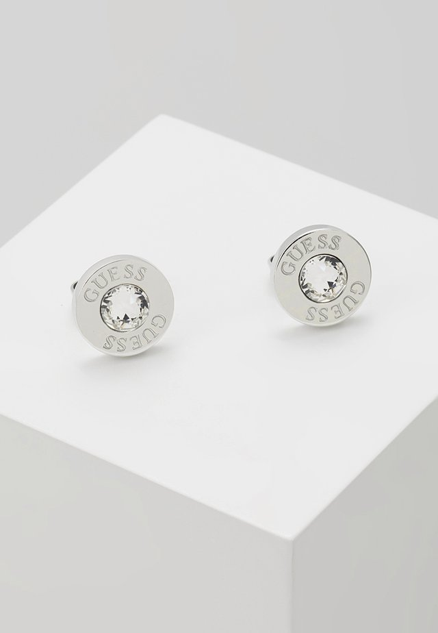 SHINY - Earrings - silver-coloured